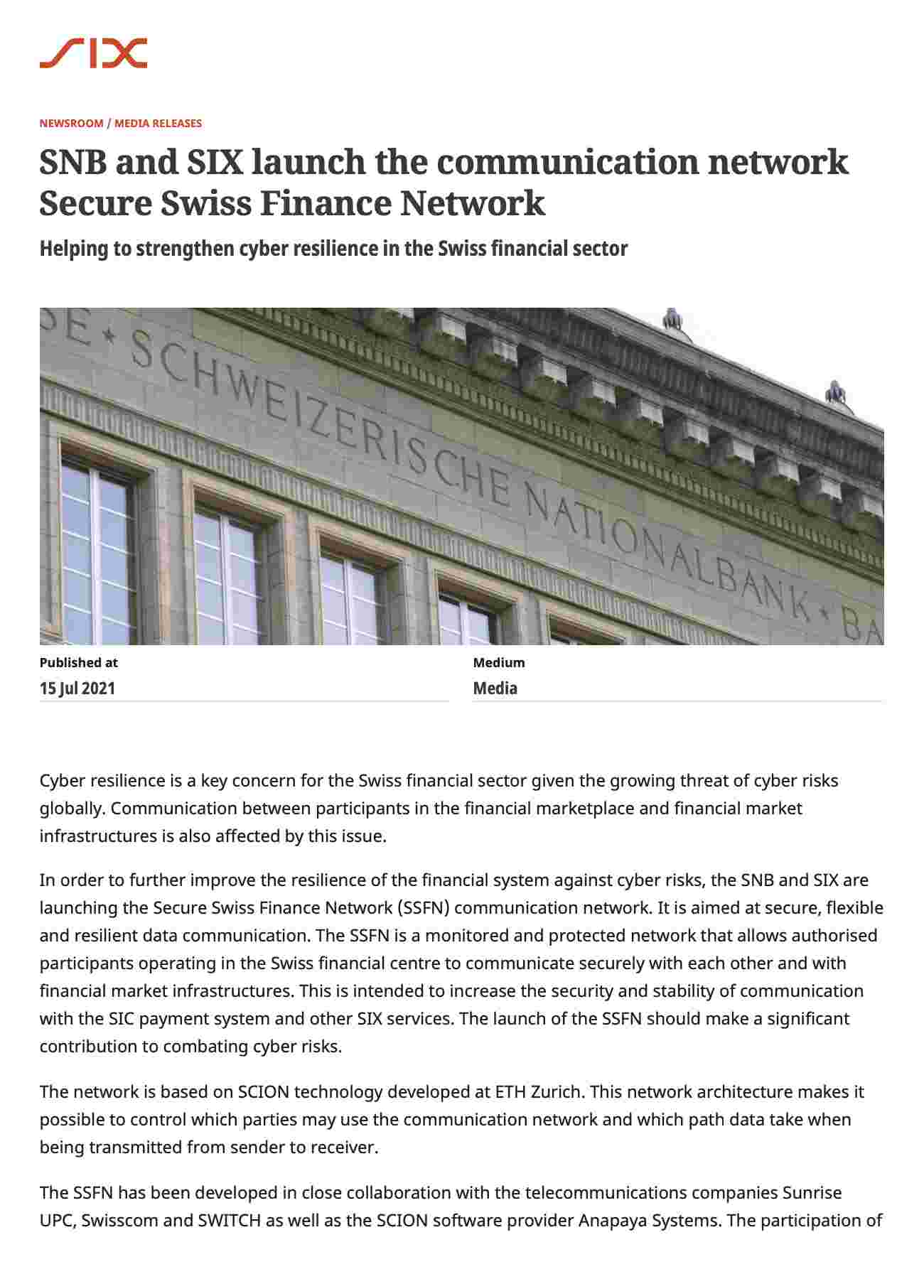 SNB_SIX_launch